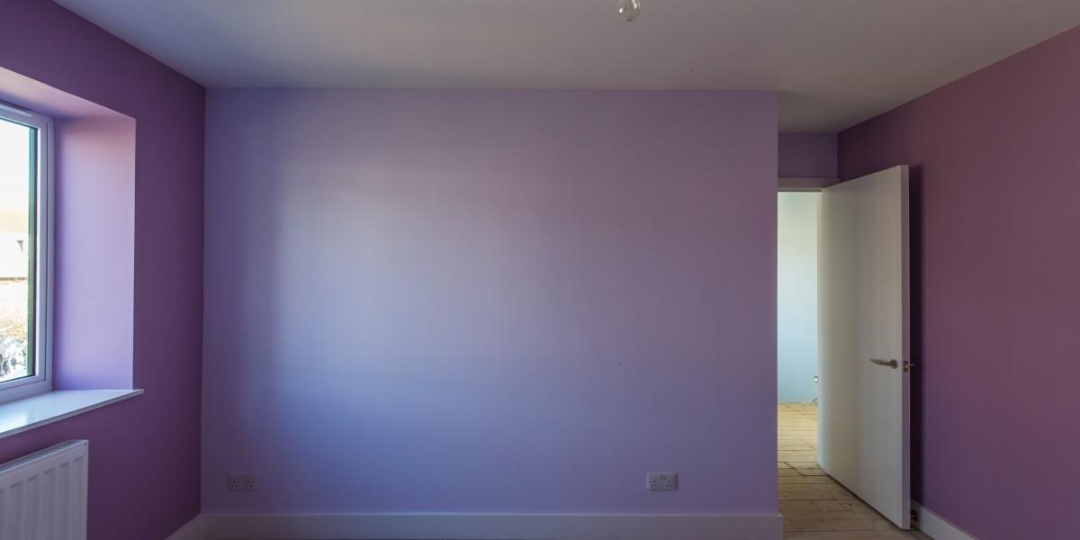 Purple room, Harpenden kitchen extension