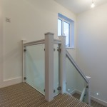 Staircase and bedroom, Harpenden kitchen extension