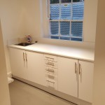Kitchen area, Canterbury medical clinic design