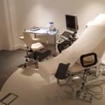 Treatment room, Canterbury medical clinic design