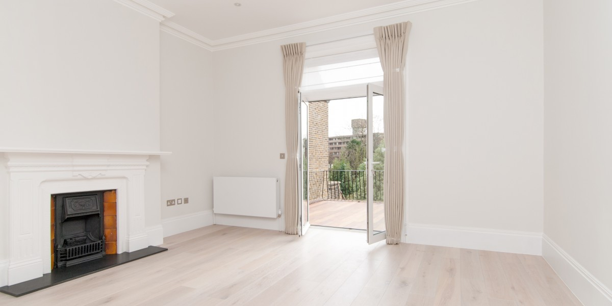 Patio doors, Goldhurst Terrace apartment refurbishment