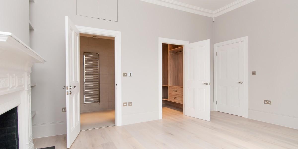 Doorways, Goldhurst Terrace apartment refurbishment