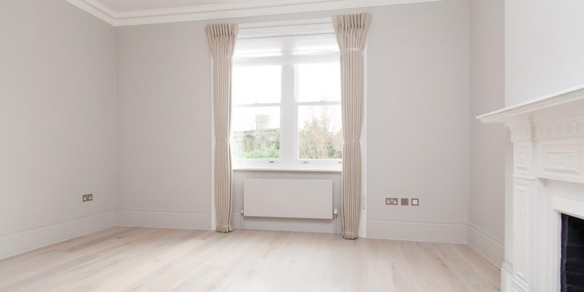 Window, Goldhurst Terrace apartment refurbishment