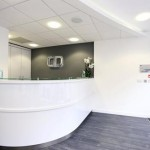 Reception, Charles Landau Dental Practice Refurbishment