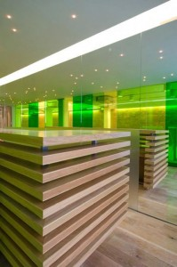 Lobby in Great Eastern Street Hotel Refurbishment: Commercial Interior Design Trends