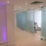 Treatment rooms in Harley street surgery interior design