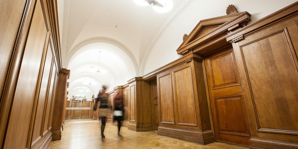 Hallway in South Bank hall interior design