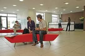 Reception area in Hemel office interior design