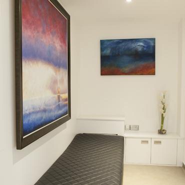 Hallway, Harley Street Dental, listed building refurbishment