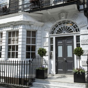 Exterior, Harley street listed building refurbishment opening a dental practice
