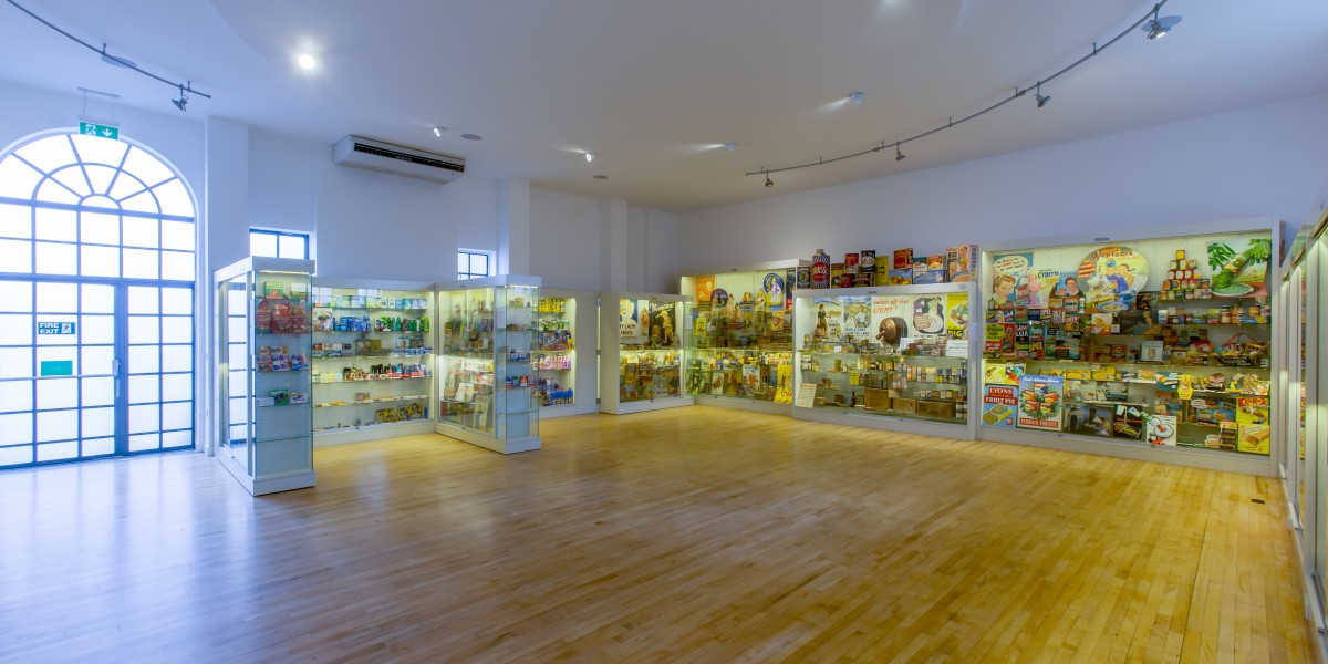 Museum of Brands display after interior design refubishment