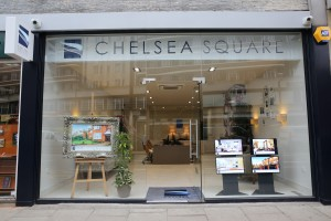 chelsea square shop front after office fit out