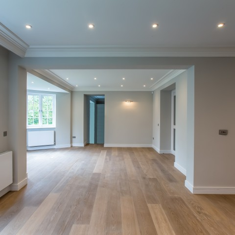 New apartment refurbishment, Swiss Cottage, London