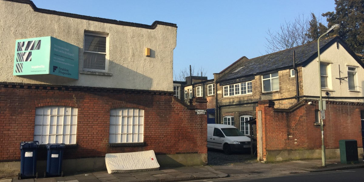 Exterior view Cornwall Works
