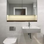 Modern vanity unit at Cornwall Works