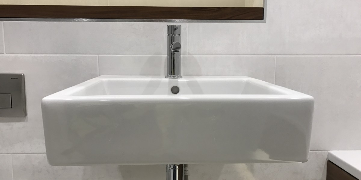 White rectangular sink at Cornwall Works