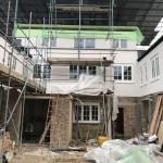 Building work at Cornwall Works