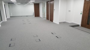 Finished flooring at Finchley Road, London