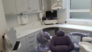 Dental surgery at The Dental Centre, Euston Road, London