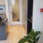 Reception area at The Dental Centre, Euston Road, London