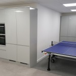 Rec area of retail office fit out