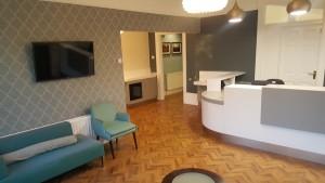 The Dental Centre, Tulse Hill, reception
