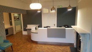 Reception area at The Dental Centre, Tulse Hill