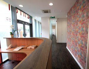 Chrisp Street Dental Reception Area