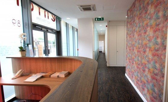 Less waiting room – and more welcoming room