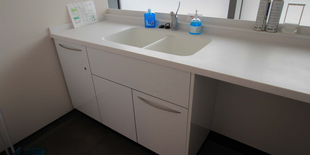 Chrisp Street Dental sink area