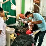 Dentaid dentists treating a patient in East Timor