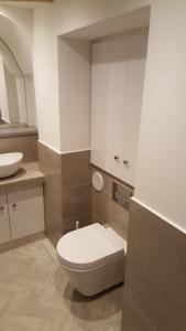 Glasshouse aesthetic clinic client bathroom