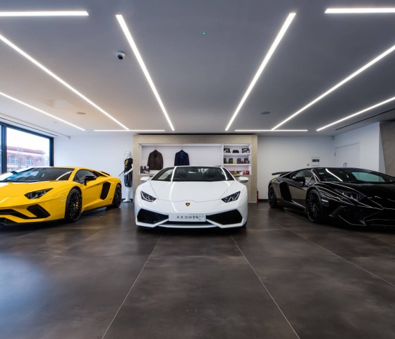 Lamborghini Showroom, South Kensington