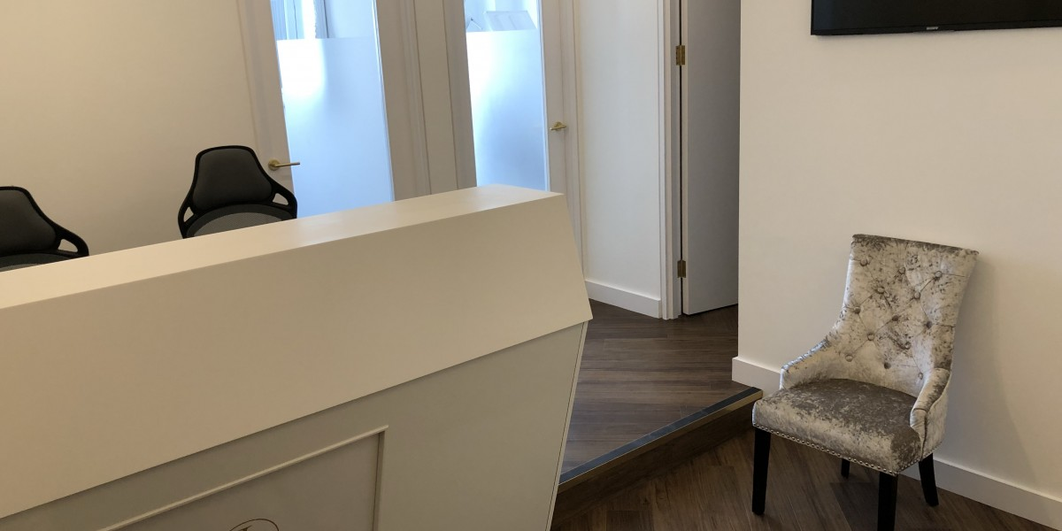 Reception at The Dental Team, South Kensington