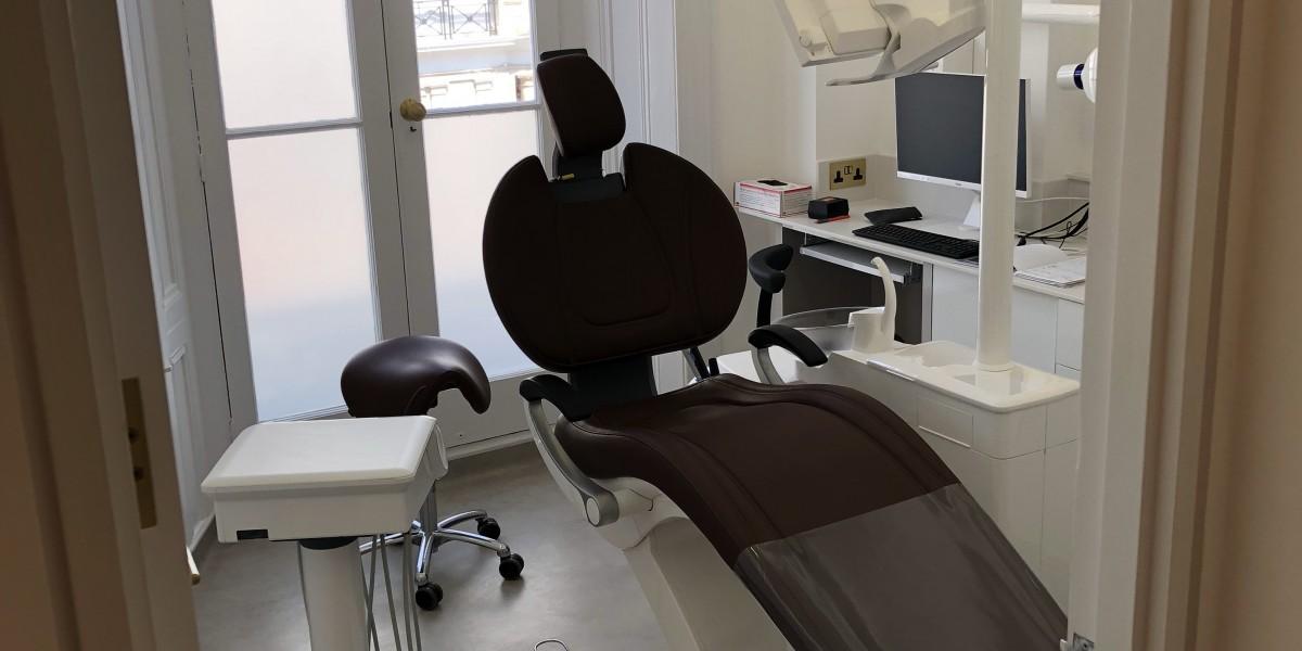 Treatment chair at The Dental Team, South Kensington