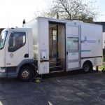 Dentaid mobile unit at Alabare Place