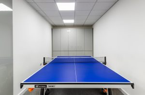 Table tennis at JBR Capital, Finchley Road, London