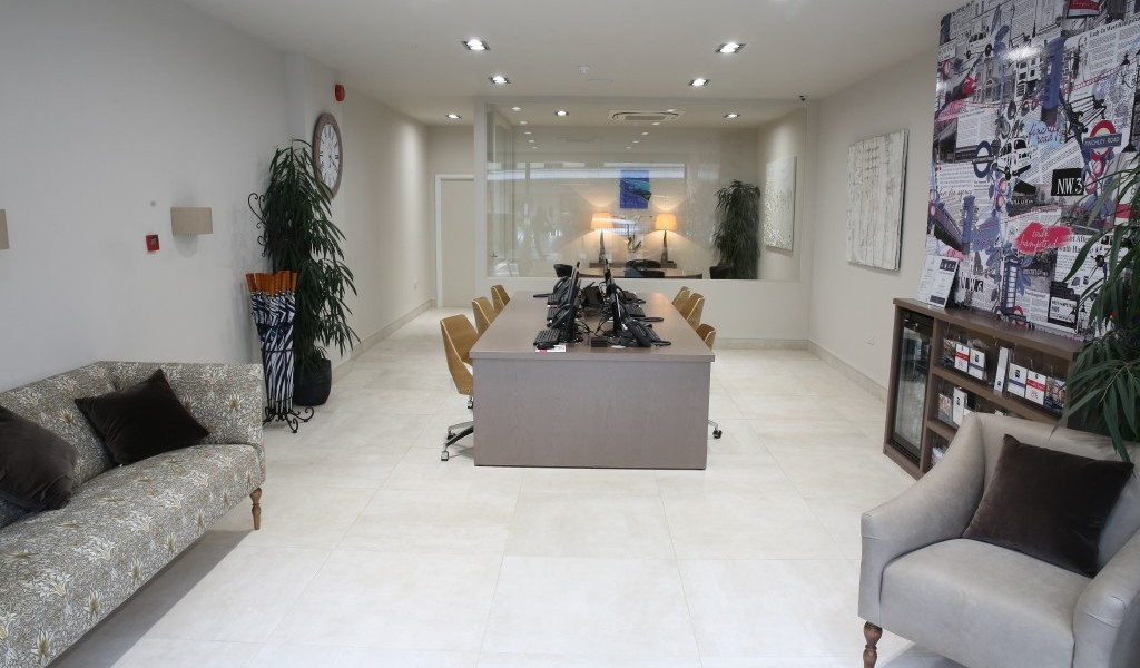 Chelsea Square office interior