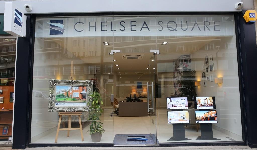 Chelsea Square window