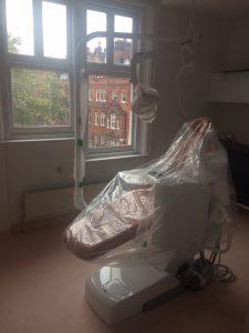 Happy Kids dental clinic work in progress