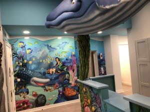 Children's themed dentist