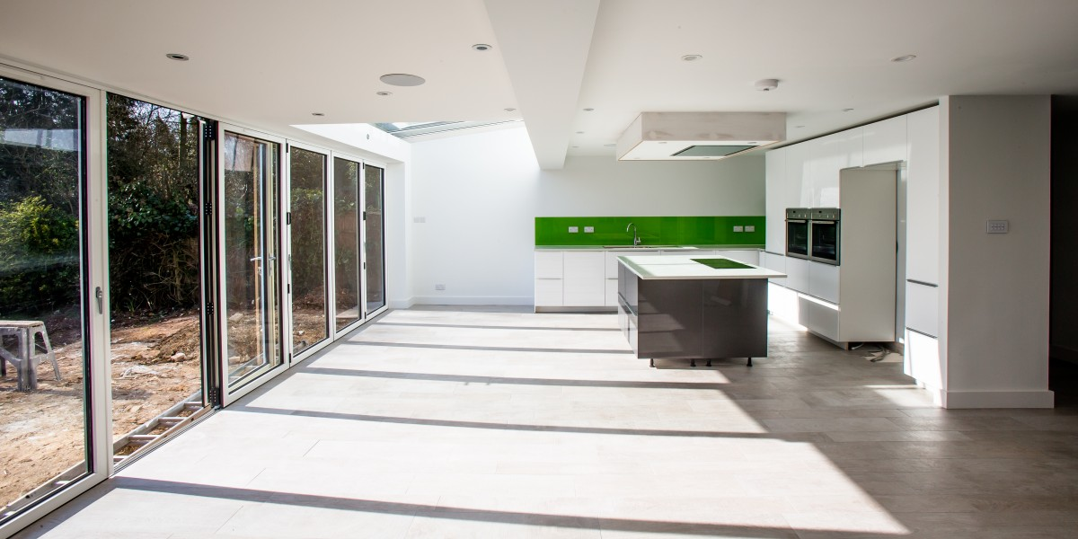 Garden and kitchen extension, Harpenden