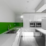 Island, ovens and sink, Harpenden kitchen extension