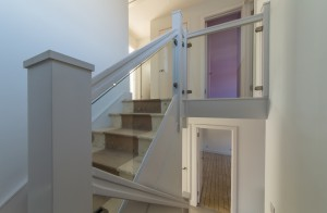 Staircase and doorways, Harpenden kitchen extension