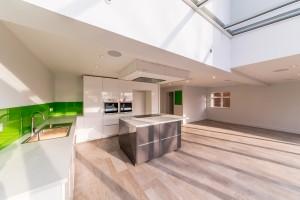 Island, ovens and sink, Harpenden kitchen extension