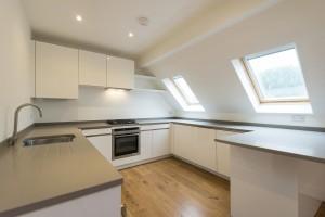 Kitchen duplex apartment design