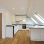 kitchen and bathroom duplex apartment design