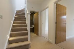 shower room duplex apartment design