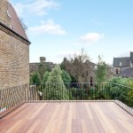 Roof terrace, Goldhurst Terrace apartment refurbishment