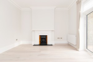Fireplace, Goldhurst Terrace apartment refurbishment